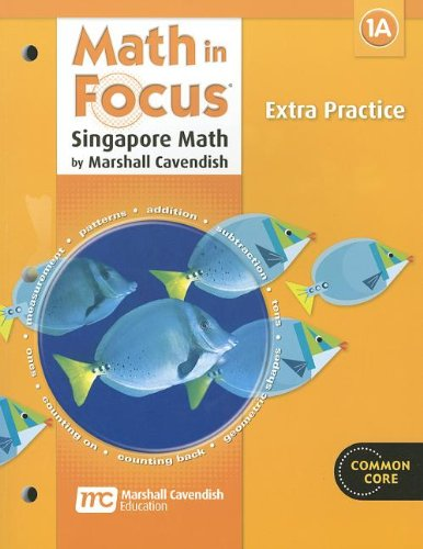 9780669015676: Math in Focus: Singapore Math: Extra Practice, Book A Grade 1