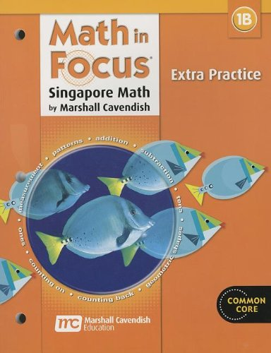 9780669015683: Math in Focus: Singapore Math: Extra Practice, Book B Grade 1