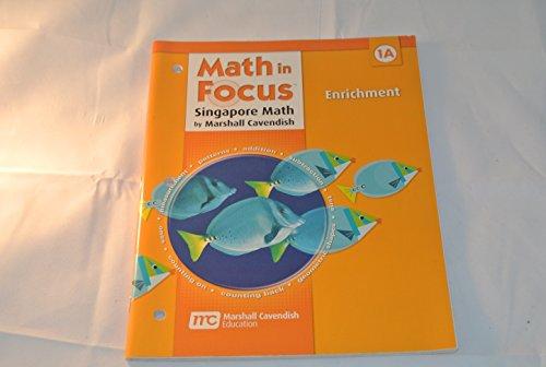 9780669015744: Math in Focus: Singapore Math: Enrichment, Book A Grade 1