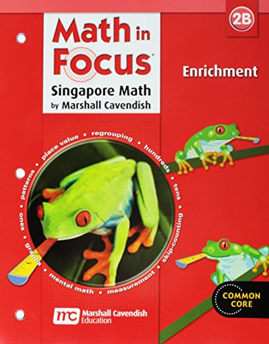 9780669015812: Math in Focus: Singapore Math: Enrichment Workbook Grade 2 Book B