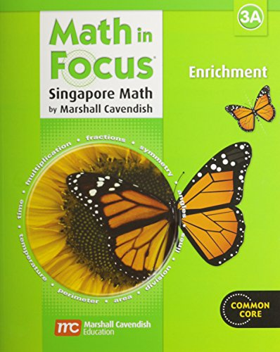 9780669015829: Math in Focus: Enrichment, Book 3A