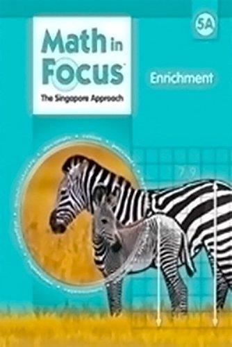 9780669015843: Hmh Math in Focus: Enrichment Grade 5book a
