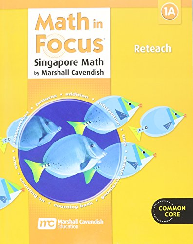 9780669015898: Math in Focus: Singapore Math: Reteach, Book A Grade 1