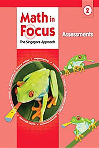 9780669016031: Math in Focus: Singapore Math: Assessments Grade 2