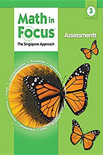 9780669016048: Math in Focus Grade 3 Assessments (Singapore Math)