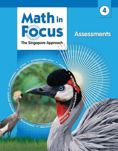 9780669016079: Math in Focus: Singapore Math: Assessments Grade 4