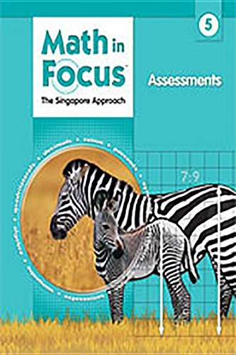 9780669016093: Math in Focus: Singapore Math: Assessments Grade 5