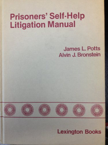 9780669016406: Prisoners' Self-help Litigation Manual