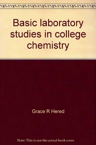 Basic laboratory studies in college chemistry: With a supplement in semimicro qualitative analysis:...