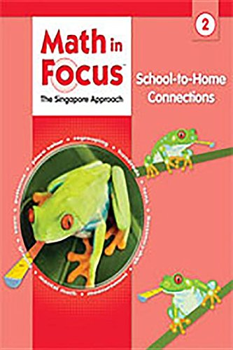 9780669026030: Math in Focus: Singapore Math: School-to-Home Connections Grade 2