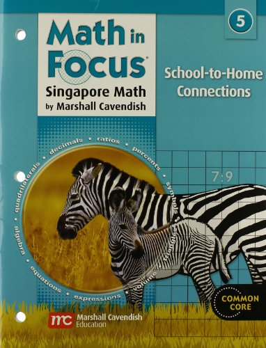 9780669027679: Math in Focus: Singapore Math: School-to-Home Connections Grade 5