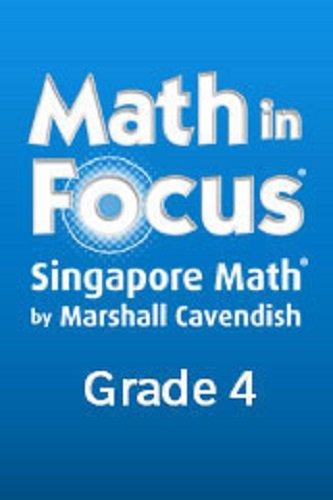9780669028430: Math in Focus: Singapore Math: Student Workbook Bundle, A & B Grade 4