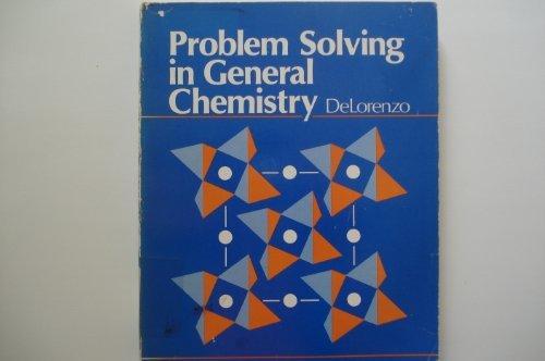9780669029246: Problem Solving in General Chemistry