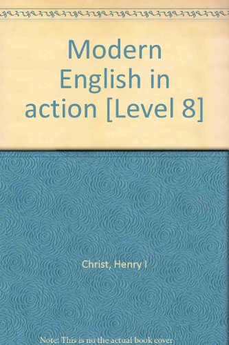 Modern English in action [Level 8]: Henry I Christ