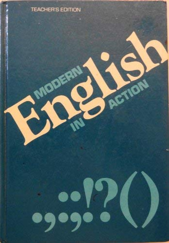 9780669031287: Modern English in Action: Level 12 (Teacher's Edition)