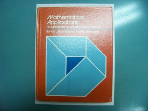 9780669032093: Mathematical Applications for Management, Life and Social Sciences