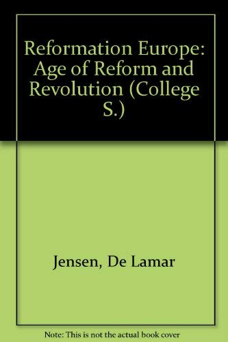 9780669036268: Reformation Europe: Age of Reform and Revolution (College)
