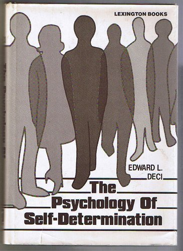 9780669040456: Psychology of Self-determination