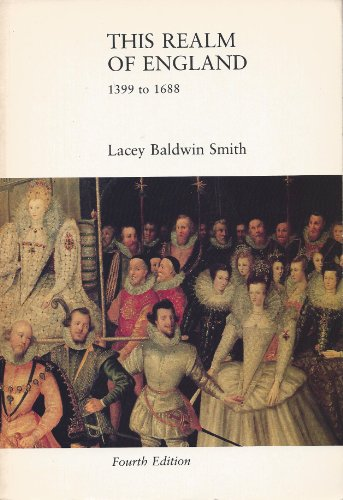 9780669043785: History of England: This Realm of England, 1399 to 1688 v. 2 (College)