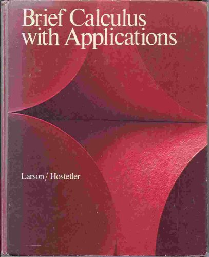 9780669048032: Brief Calculus with Applications (College)