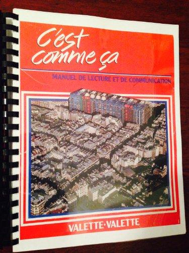 9780669052022: C'Est Comme Ca