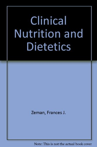 9780669052343: Clinical Nutrition and Dietetics
