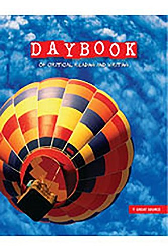 9780669052411: Daybook of Critical Reading and Writing: Teacher's Edition Grade 5 Language Arts 2008