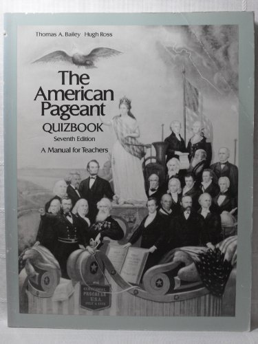 9780669052695: American Pageant: Quizbook (College)