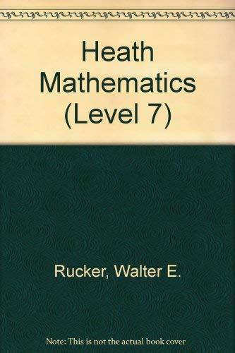 9780669053234: Heath Mathematics (LEVEL 7)