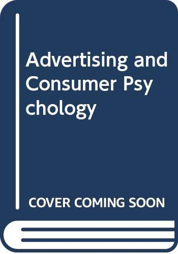 9780669057669: Advertising and Consumer Psychology