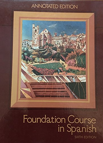 9780669069952: Foundation course in Spanish