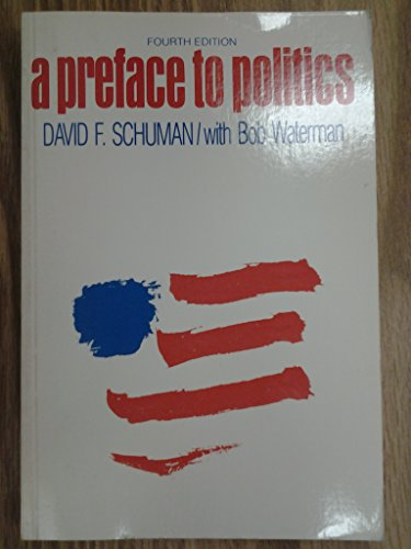 9780669075526: A preface to politics: The spirit of the place