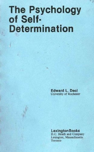 9780669098136: The Psychology of Self-Determination