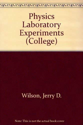 9780669099096: Physics Laboratory Experiments (College)