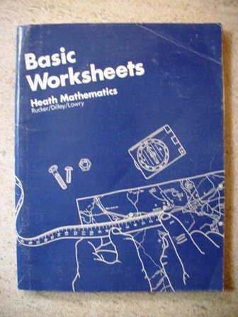 9780669104783: Basic Worksheets: Heath Mathematics (Heath Mathematics)