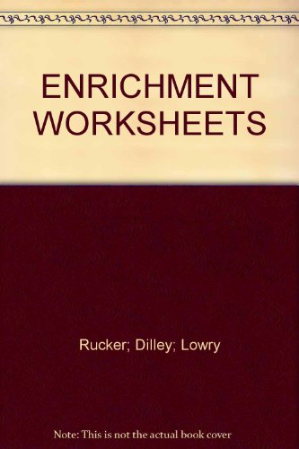 Printables D.c Heath And Company Worksheets enrichment worksheets by na d c heath and company na
