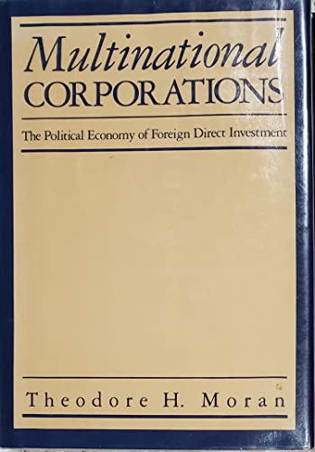 9780669112412: Multinational Corporations CB: The Political Economy of Foreign Direct Investment