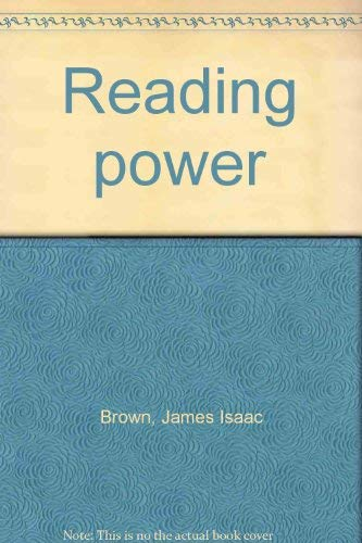 9780669117721: Title: Reading power