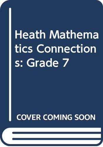 9780669119053: Heath Mathematics Connections: Grade 7