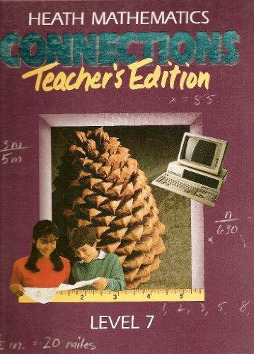 9780669119145: Heath Mathematics Connections Level 7 (Teachers Edition)