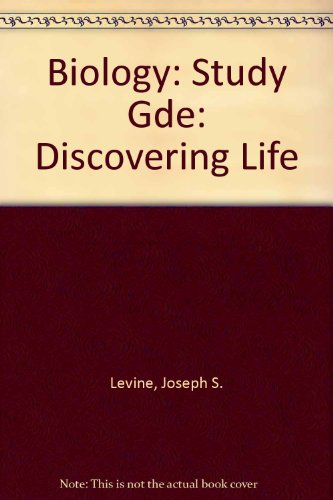 9780669120097: Biology: Study Gde: Discovering Life