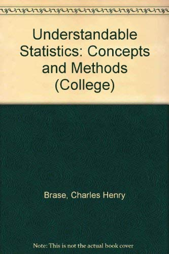 9780669121810: Understandable Statistics: Concepts and Methods