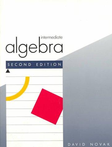 9780669122275: Intermediate Algebra (College)
