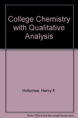 Instructor's Guide for General Chemistry and College: Holtzclaw, Henry F.