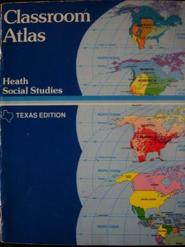 Classroom atlas (Heath social studies) (0669147028) by D.C. Heath and Company