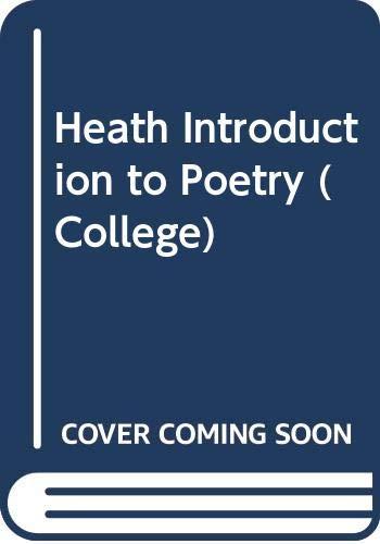 The Heath Introduction to Poetry: Joseph De Roche