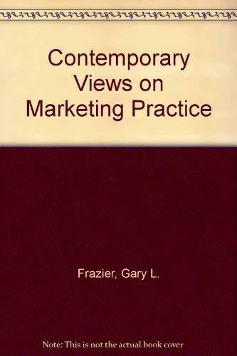 9780669151206: Contemporary Views on Marketing Practice
