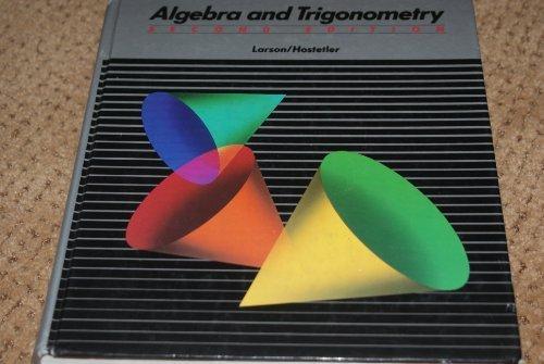 9780669162691: Algebra and Trigonometry