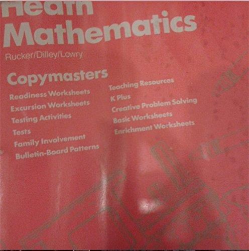 9780669164152: Heath General Mathematics, Teacher's Resource Binder (Tests, Visual Aids, Worksheets, Class Starter Quizzes, Challenge Problems, Projects, Mental Math Extensions, Manipulative Activities, Manipulatives)
