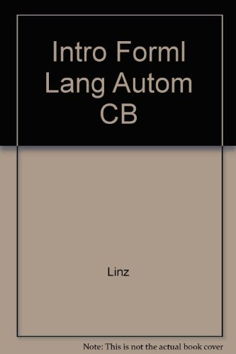 Introduction to Formal Languages and Automata: P Linz